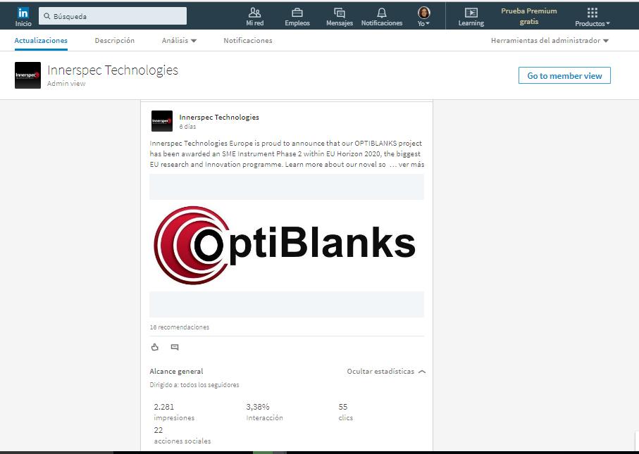 OPTIBLANKS Project Presentation
